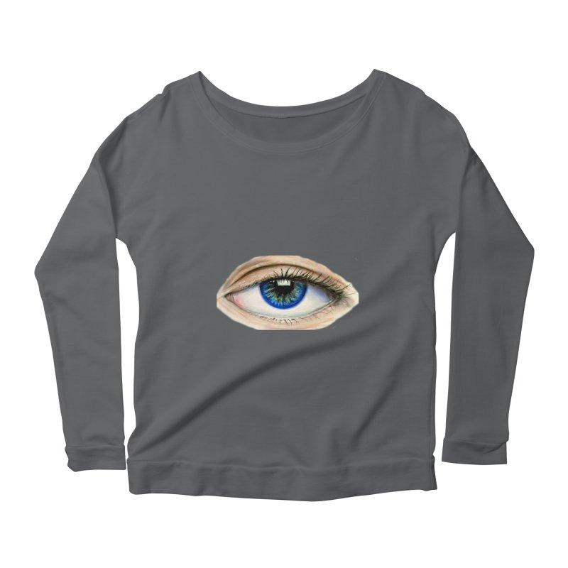 eye believe Women's Longsleeve Scoopneck  by joe's shop