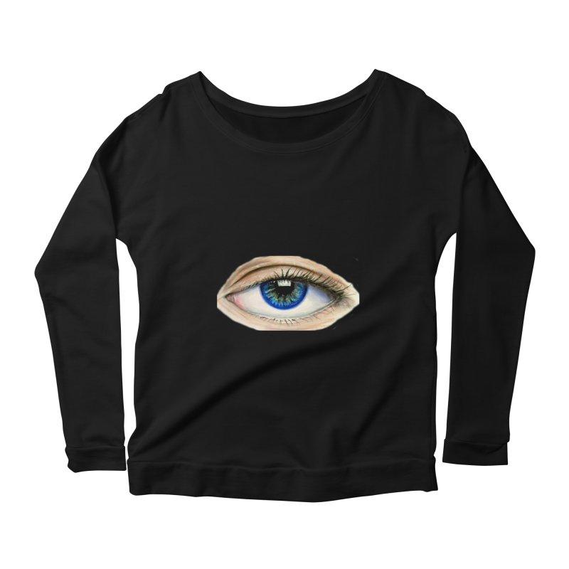 eye believe Women's Scoop Neck Longsleeve T-Shirt by joe's shop