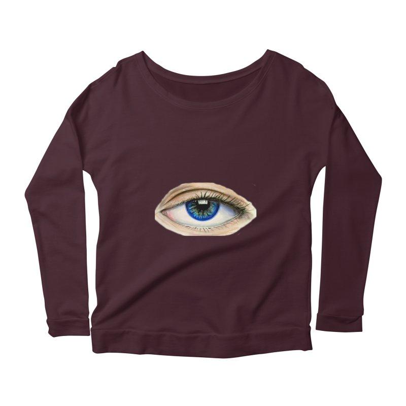 eye believe Women's Longsleeve Scoopneck  by joe's shop