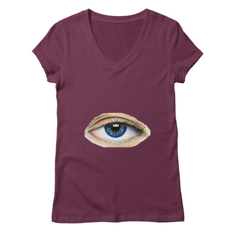 eye believe Women's Regular V-Neck by joe's shop