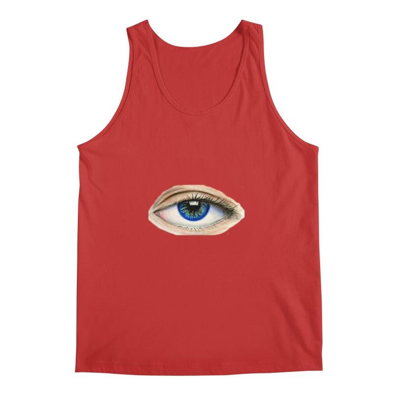 eye believe Men's Regular Tank by joe's shop