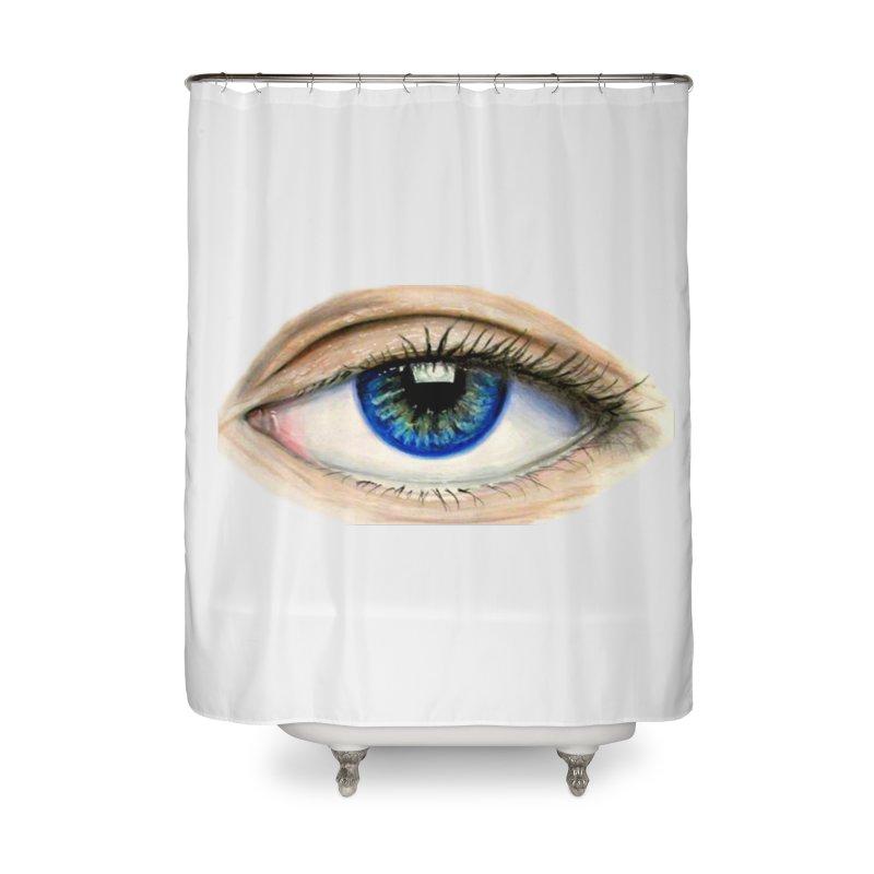 eye believe Home Shower Curtain by joe's shop
