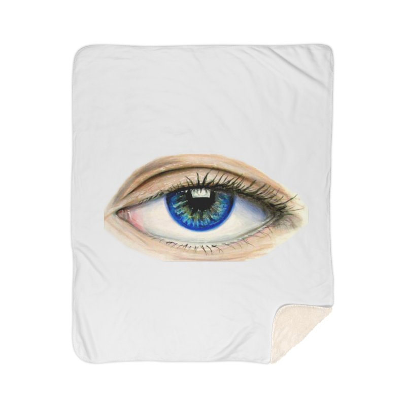 eye believe Home Sherpa Blanket Blanket by joe's shop