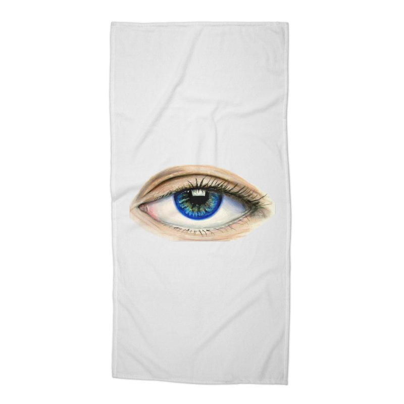eye believe Accessories Beach Towel by joe's shop