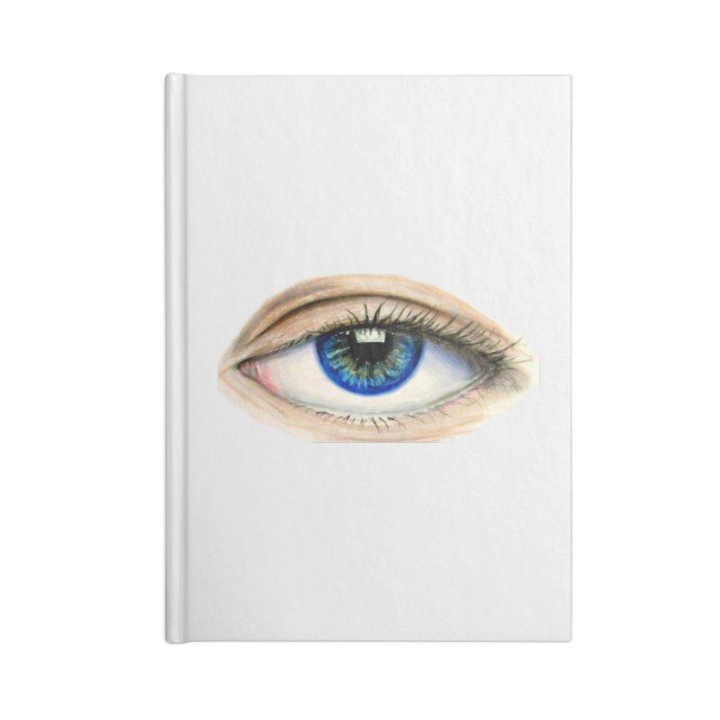 eye believe Accessories Lined Journal Notebook by joe's shop