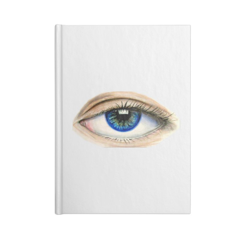 eye believe Accessories Blank Journal Notebook by joe's shop