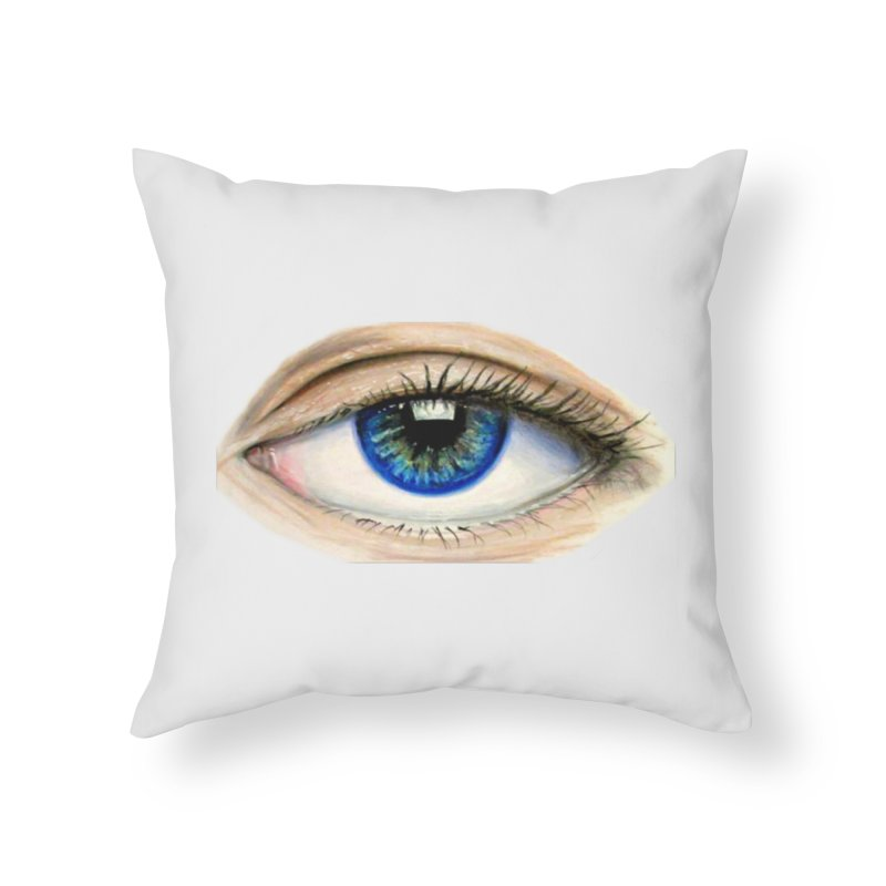 eye believe Home Throw Pillow by joe's shop