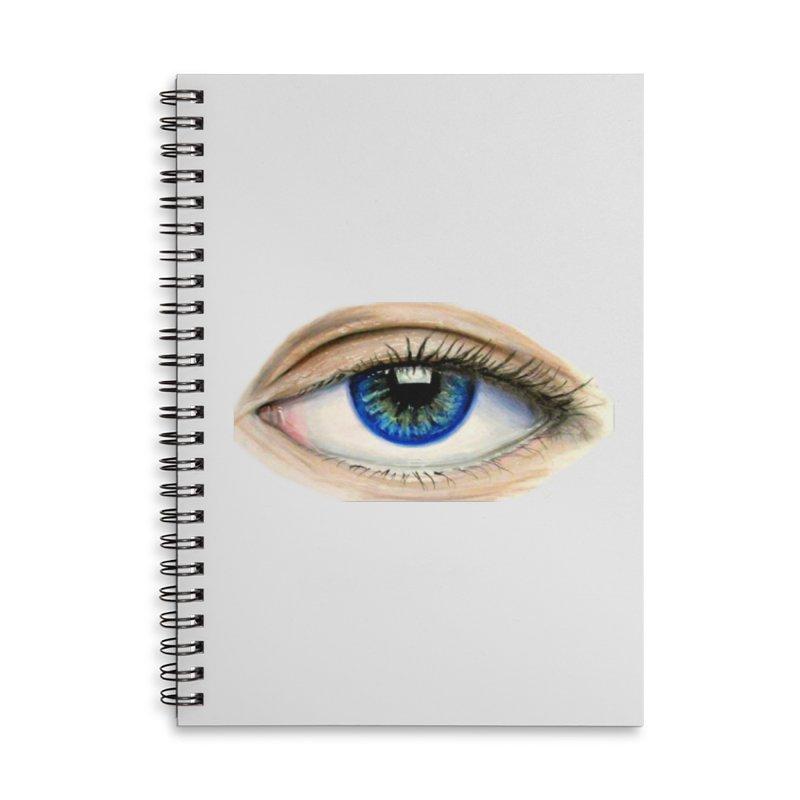 eye believe Accessories Lined Spiral Notebook by joe's shop