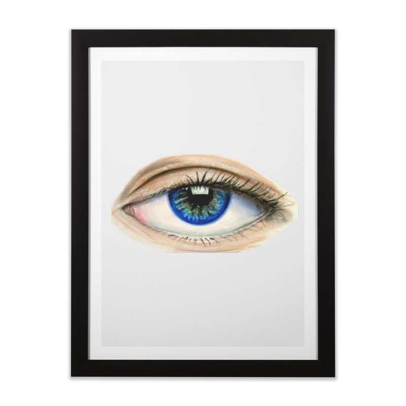 eye believe Home Framed Fine Art Print by joe's shop