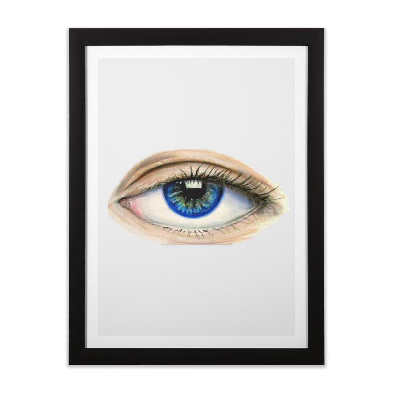 eye believe Home Framed Fine Art Print by joe's shop