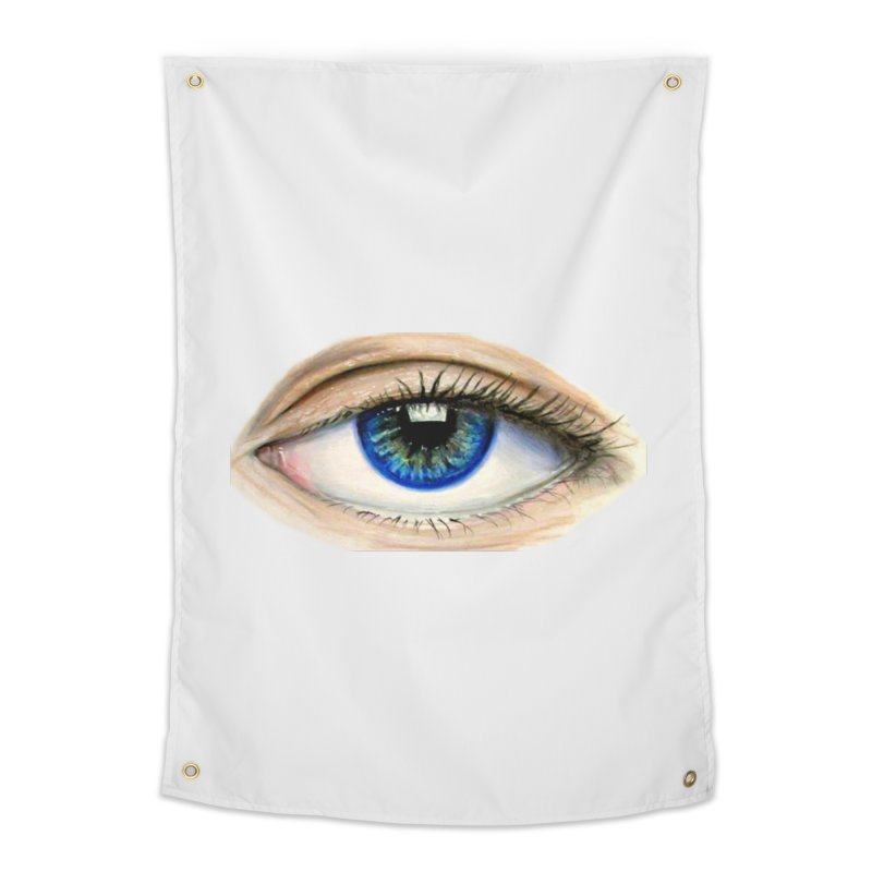 eye believe Home Tapestry by joe's shop