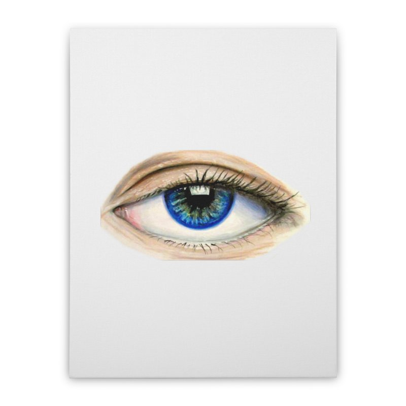 eye believe Home Stretched Canvas by joe's shop