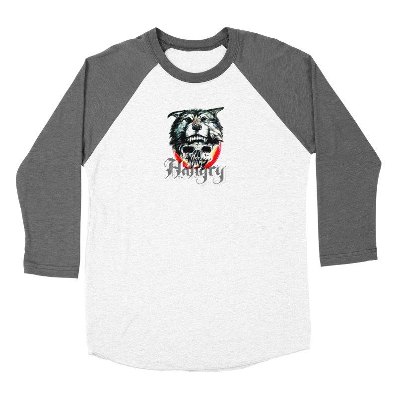 growl Men's Baseball Triblend Longsleeve T-Shirt by joe's shop