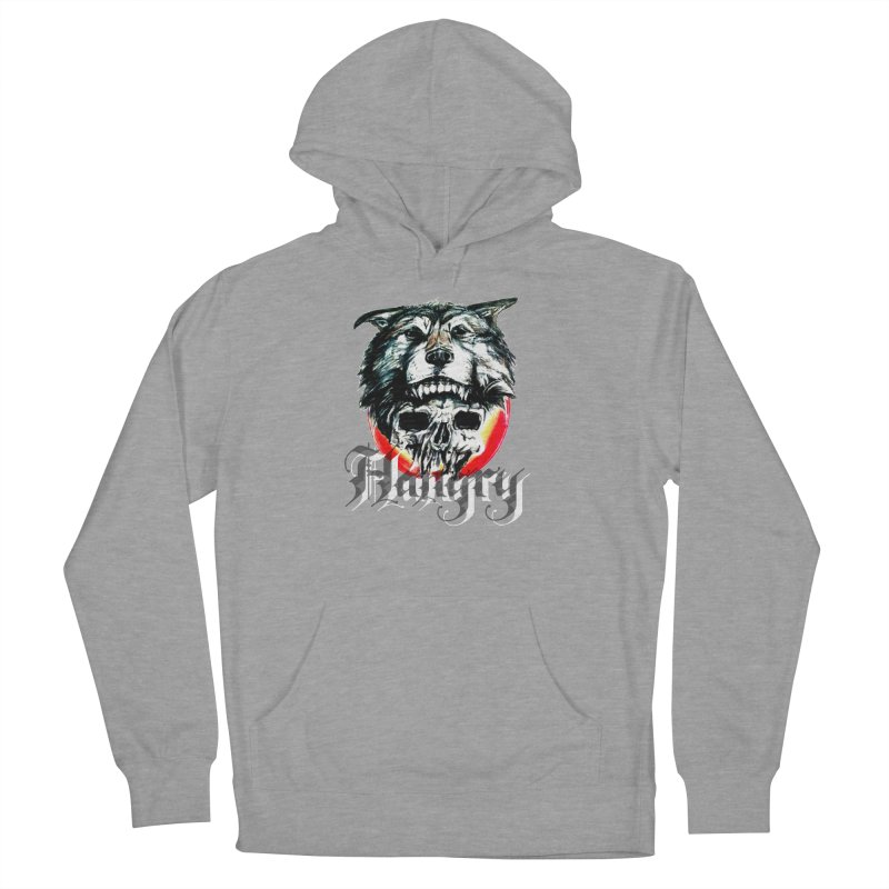 growl Women's French Terry Pullover Hoody by joe's shop