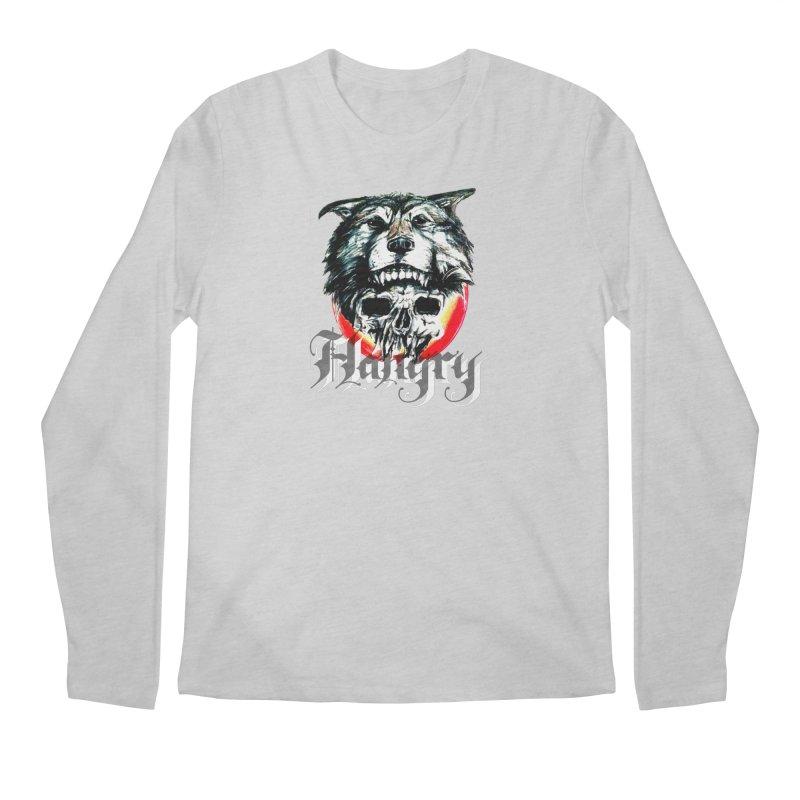 growl Men's Regular Longsleeve T-Shirt by joe's shop