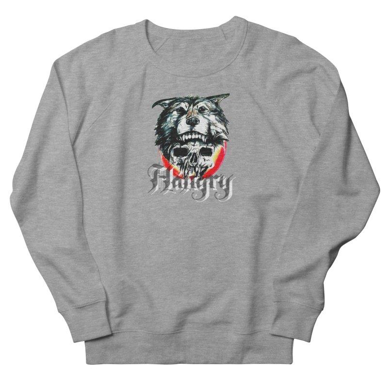 growl Men's French Terry Sweatshirt by joe's shop