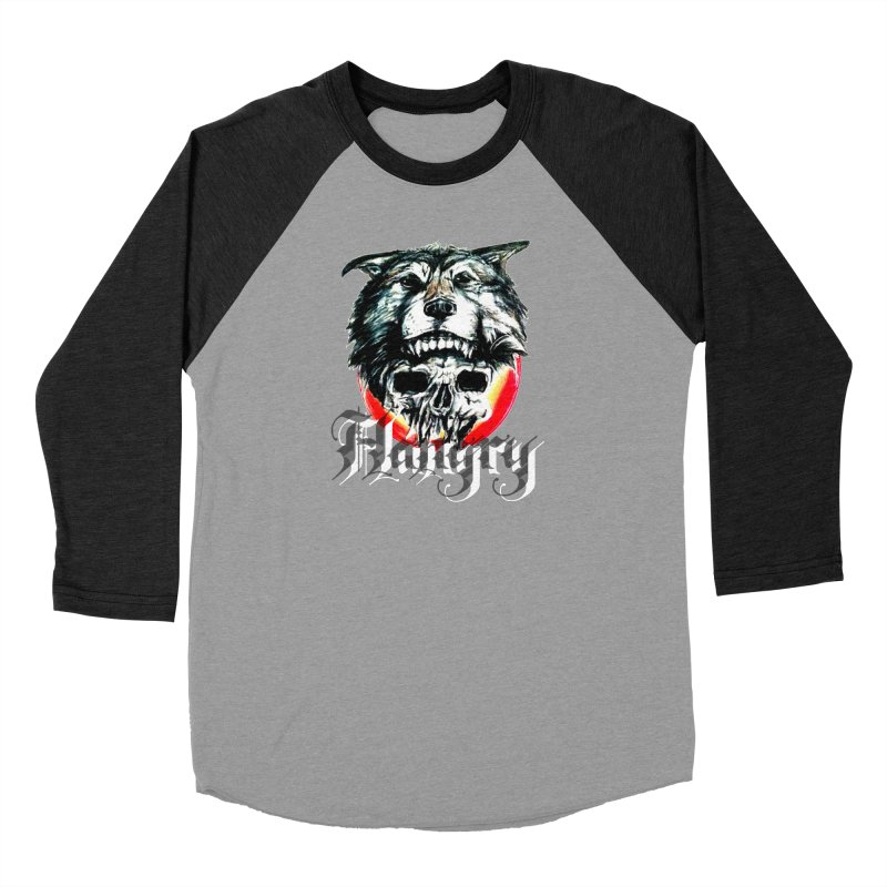 growl Men's Baseball Triblend Longsleeve T-Shirt by joe's shop
