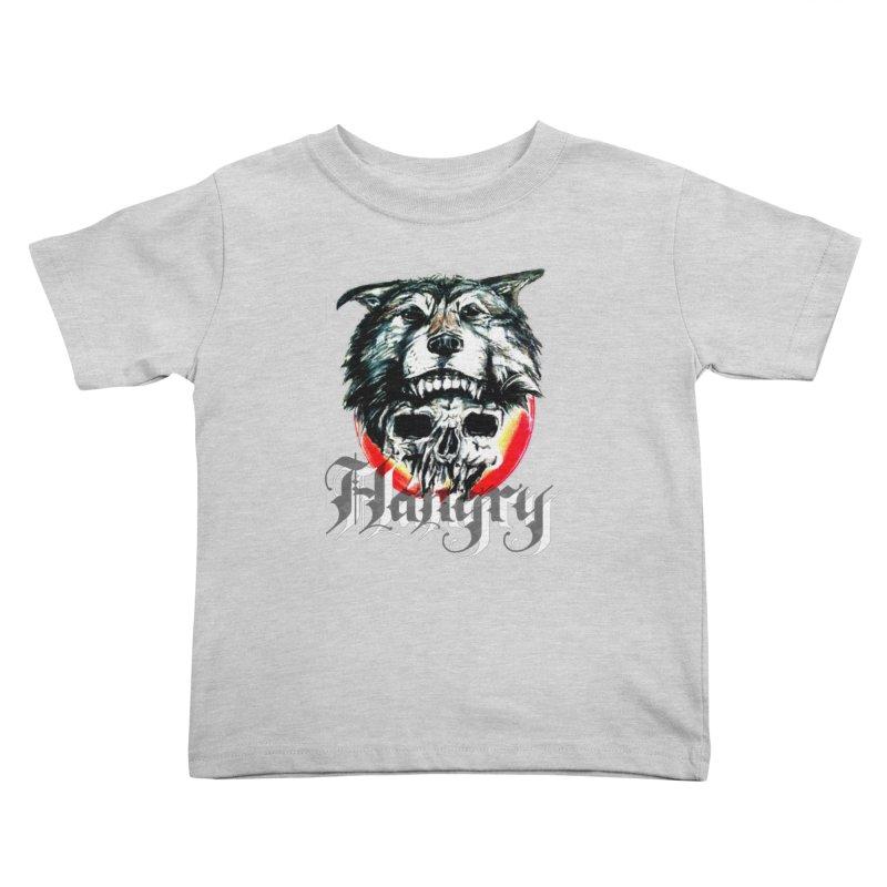 growl Kids Toddler T-Shirt by joe's shop