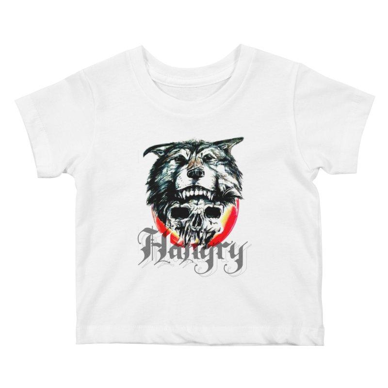growl Kids Baby T-Shirt by joe's shop