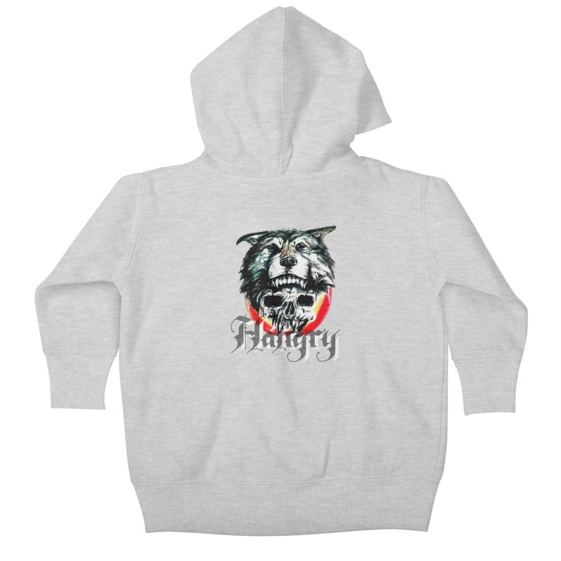 growl Kids Baby Zip-Up Hoody by joe's shop