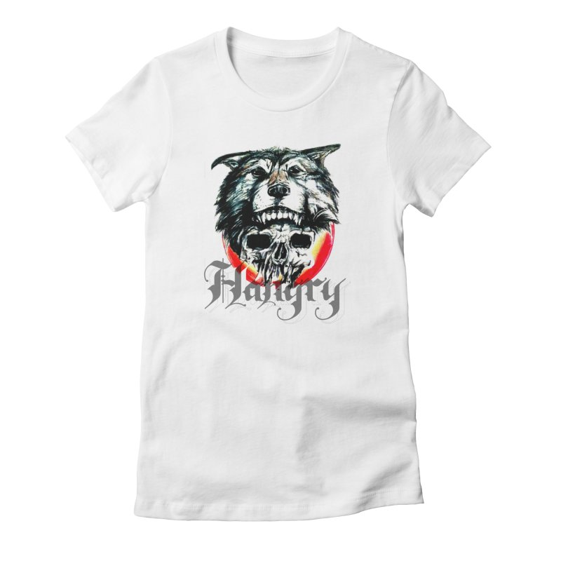 growl Women's Fitted T-Shirt by joe's shop