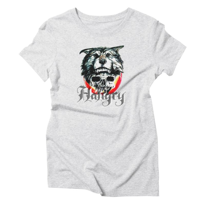 growl Women's Triblend T-Shirt by joe's shop