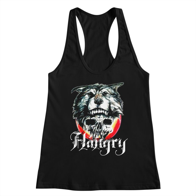 growl Women's Racerback Tank by joe's shop