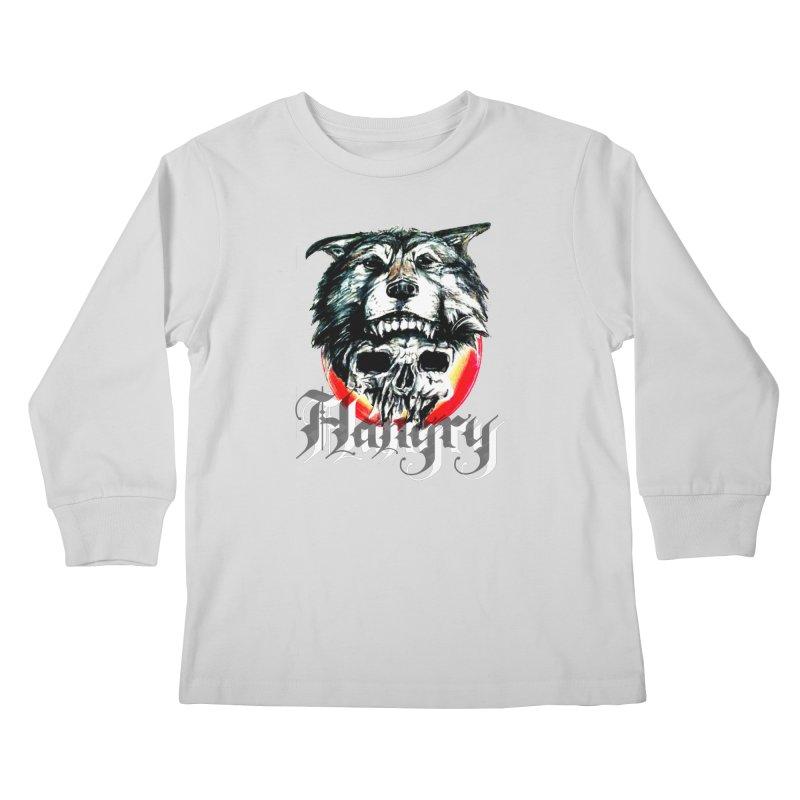 growl Kids Longsleeve T-Shirt by joe's shop