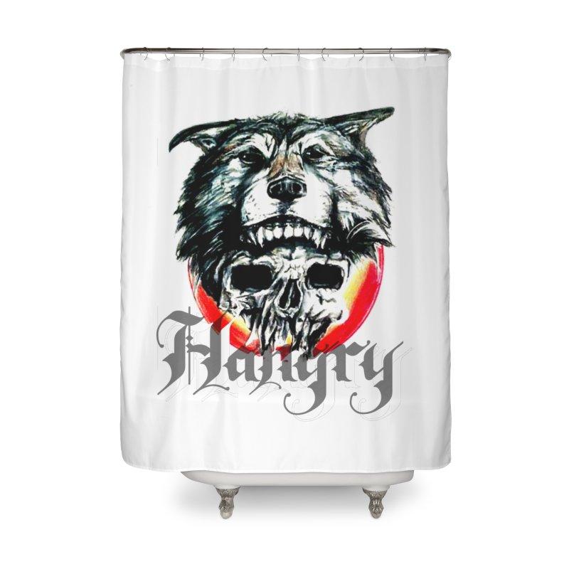 growl Home Shower Curtain by joe's shop