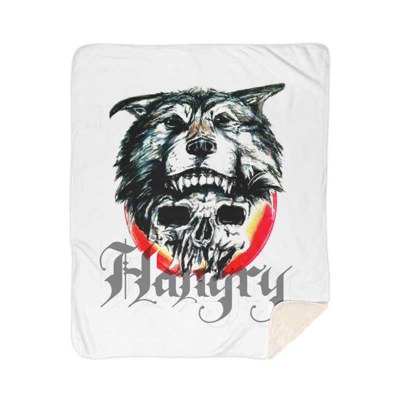 growl Home Sherpa Blanket Blanket by joe's shop