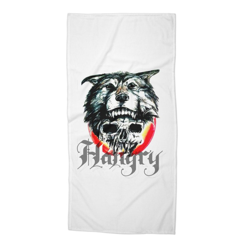 growl Accessories Beach Towel by joe's shop