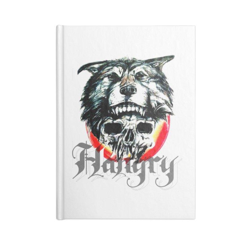 growl Accessories Blank Journal Notebook by joe's shop