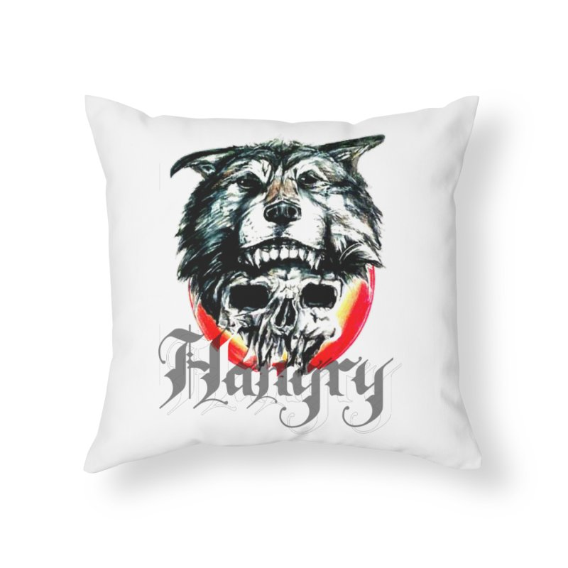 growl Home Throw Pillow by joe's shop
