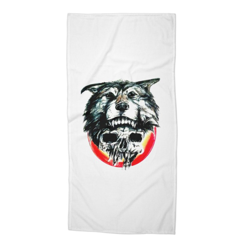 mine Accessories Beach Towel by joe's shop