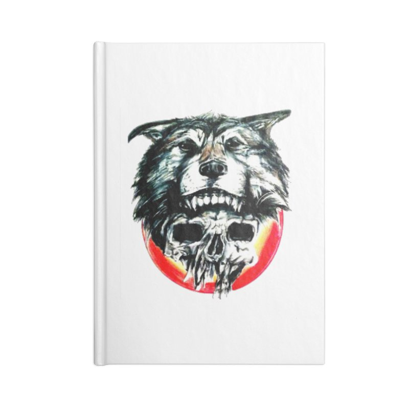 mine Accessories Blank Journal Notebook by joe's shop
