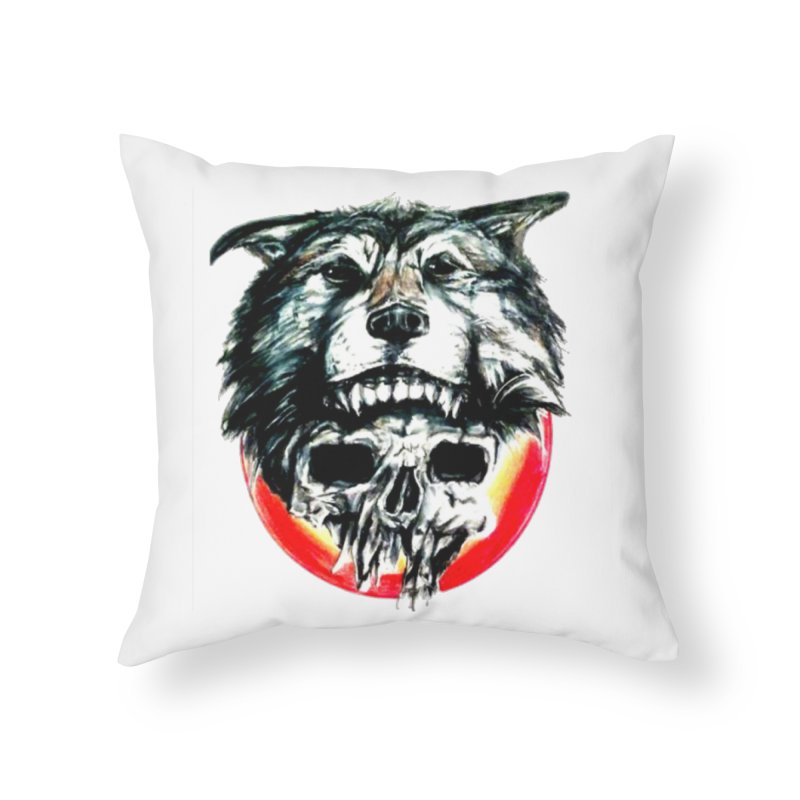mine Home Throw Pillow by joe's shop