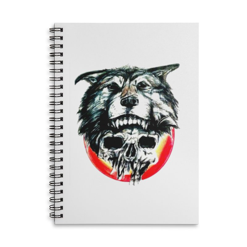 mine Accessories Lined Spiral Notebook by joe's shop