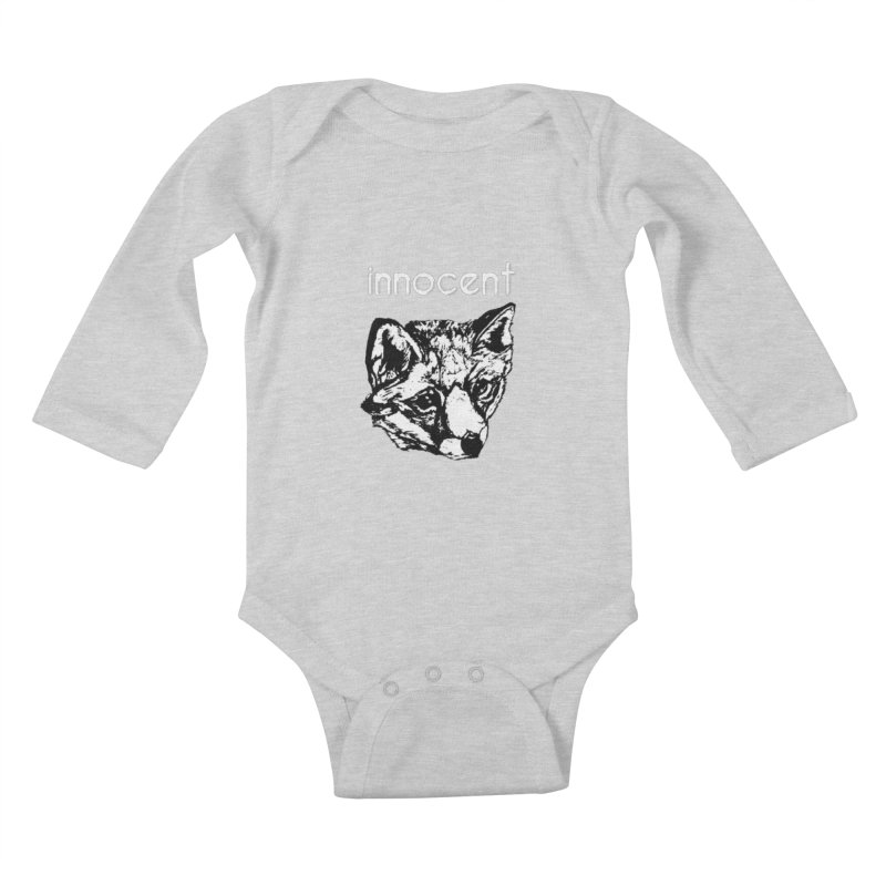 guilty Kids Baby Longsleeve Bodysuit by joe's shop