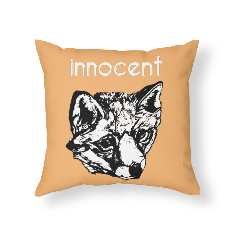 guilty Home Throw Pillow by joe's shop
