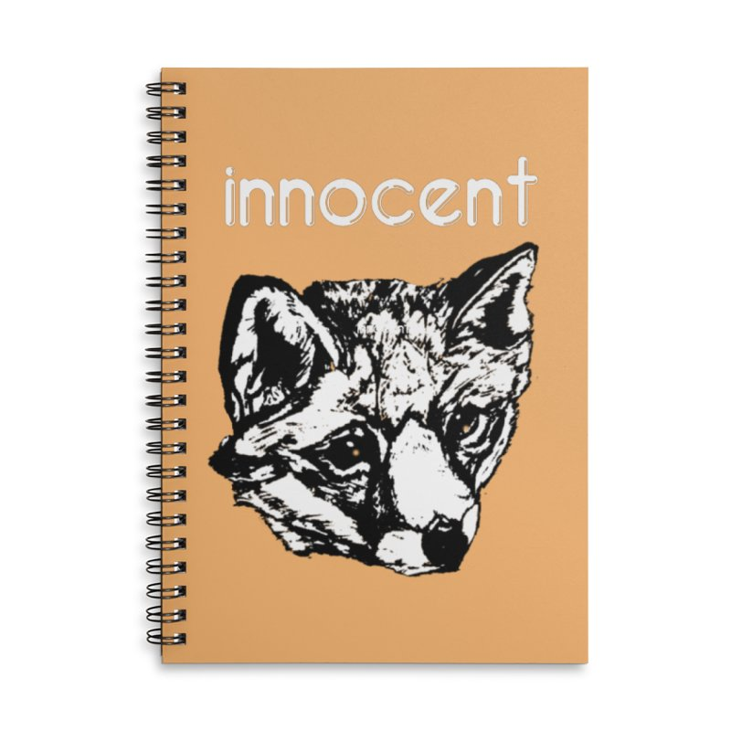 guilty Accessories Lined Spiral Notebook by joe's shop