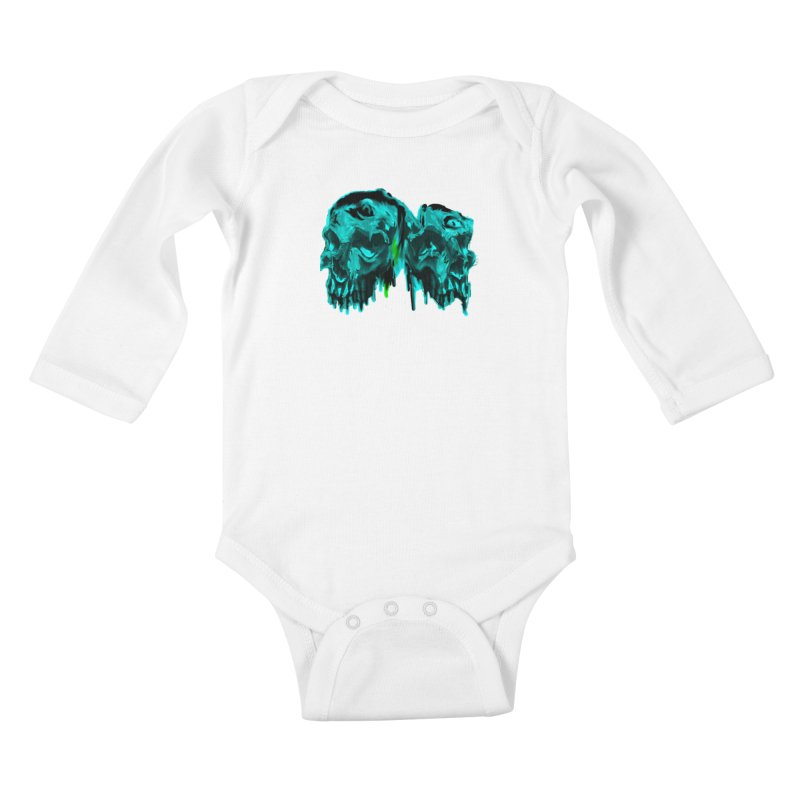 hot summer's day Kids Baby Longsleeve Bodysuit by joe's shop