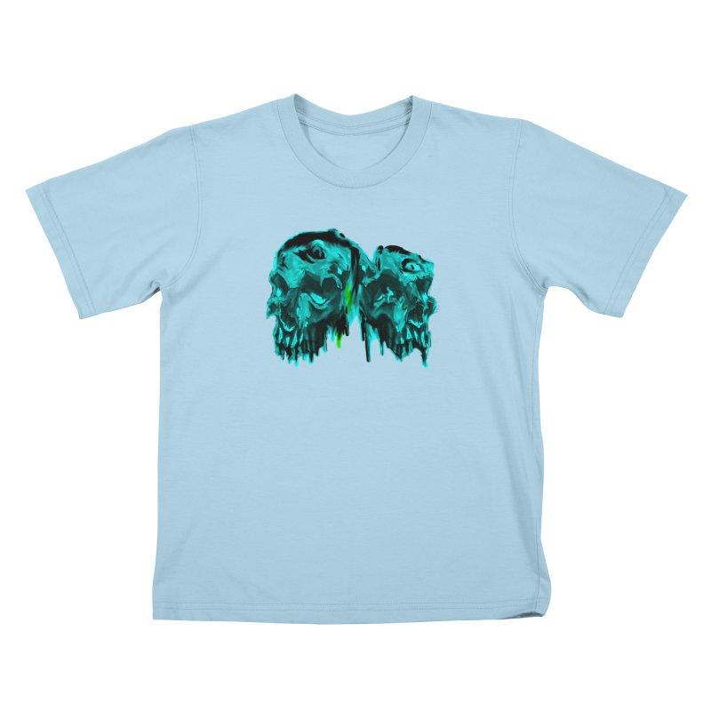 hot summer's day Kids T-Shirt by joe's shop