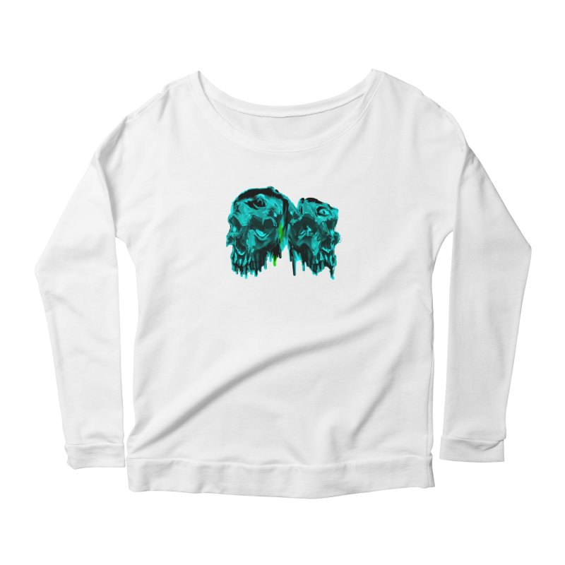 hot summer's day Women's Scoop Neck Longsleeve T-Shirt by joe's shop
