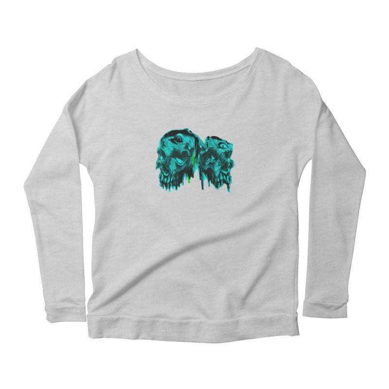 hot summer's day Women's Longsleeve Scoopneck  by joe's shop