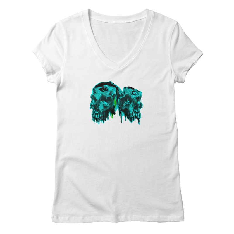hot summer's day Women's Regular V-Neck by joe's shop