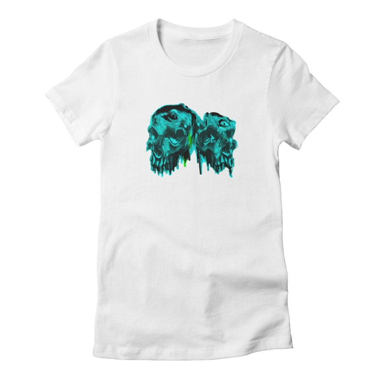 hot summer's day Women's Fitted T-Shirt by joe's shop