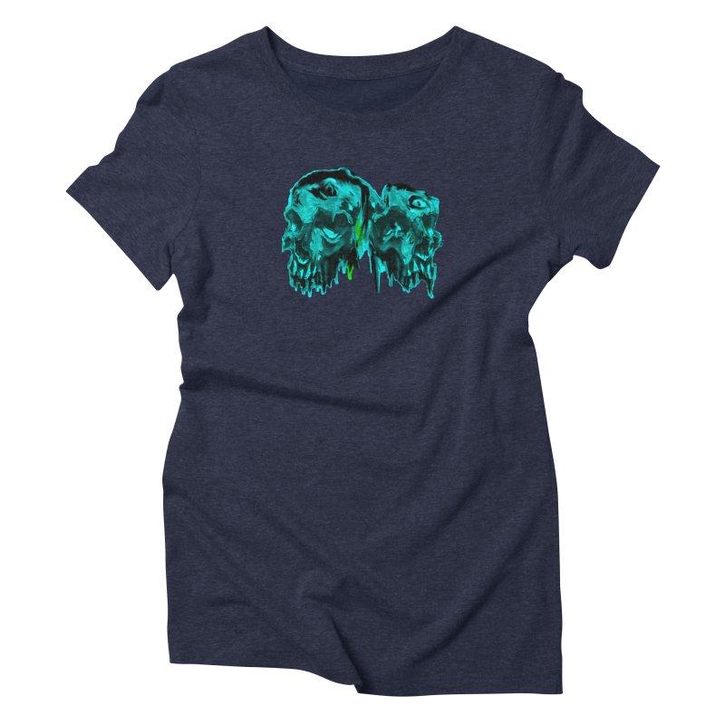hot summer's day Women's Triblend T-Shirt by joe's shop