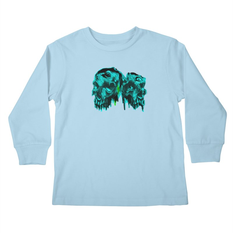 hot summer's day Kids Longsleeve T-Shirt by joe's shop