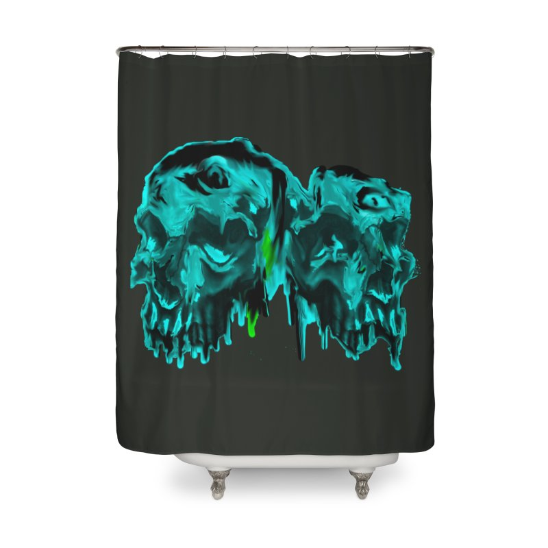 hot summer's day Home Shower Curtain by joe's shop