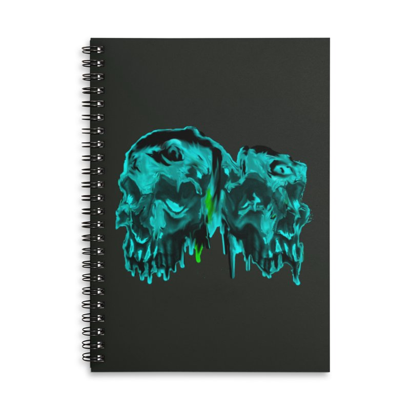 hot summer's day Accessories Lined Spiral Notebook by joe's shop